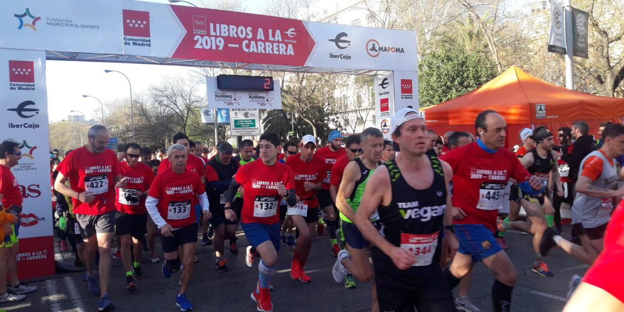 Libros a la Carrera se consolida en su segunda edición como la cita de la lectura y el deporte de Madrid