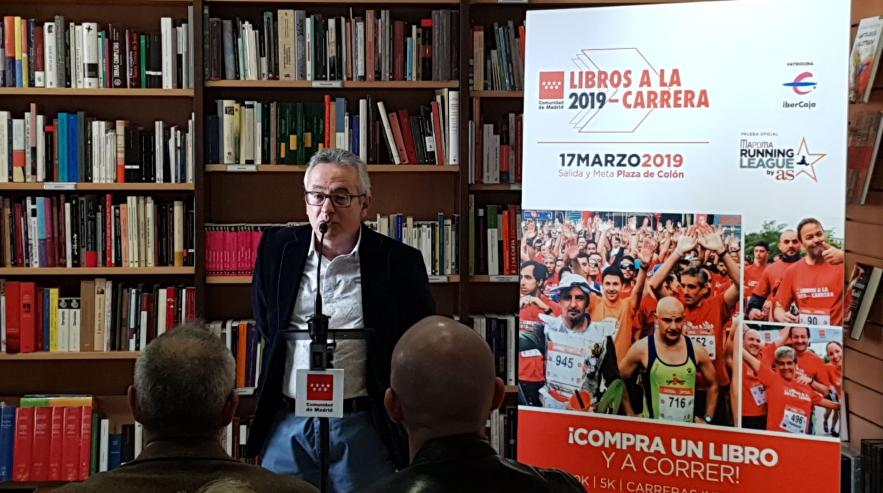 La librería Marcial Pons acoge la presentación de la II Edición de Libros a la Carrera
