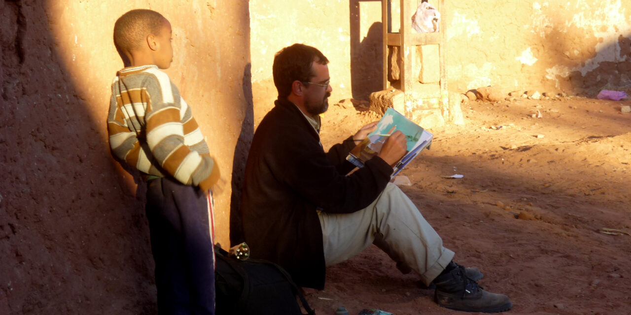 Entrevista con Enrique Flores, ilustrador de Libros a la Calle