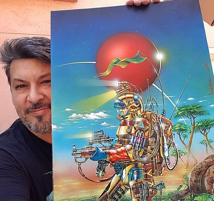 Entrevista con Al Sánchez, ilustrador de la Campaña Libros a la calle