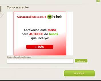 Acuerdo con ConocerAlAutor.com