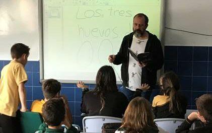 Entrevista a Nacho Moreno, profesor del Colegio Quercus, ganador de la pasada edición del Concurso Escolar de Lectura