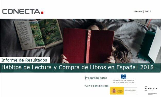 El número de lectores en España crece en 2018