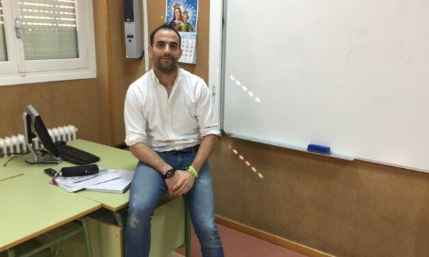 Entrevista a Sergio Carrero Villarreal, profesor de literatura del Colegio Salesianos El Pilar, ganador de la pasada edición del Concurso Escolar de Lectura