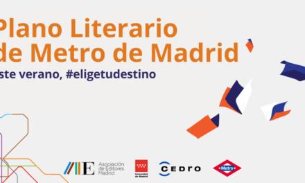 Los editores de Madrid y Metro de Madrid presentan Elige tu destino, Plano Literario de Metro de Madrid