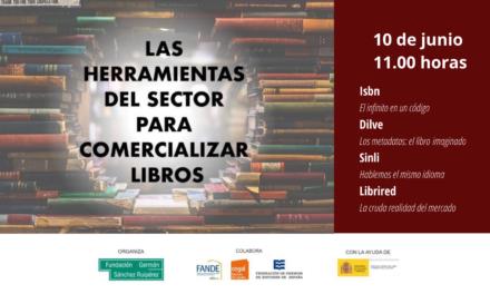 """Seminario web """"Las herramientas del sector para comercializar libros"""""""