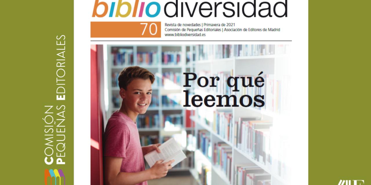 Ya está disponible el número 70 de la revista Bibliodiversidad