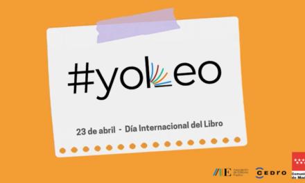 #yoleo, la campaña con la que los editores de Madrid reivindican el orgullo de ser lector
