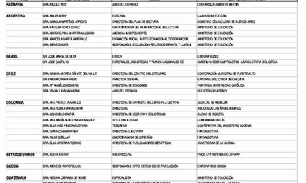 LIBER 2021. ACTUALIZACIÓN DEL PROGRAMA DE INVITADOS